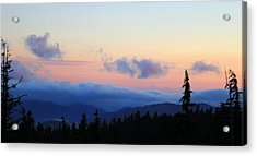 Day Is Done Acrylic Print by Debra Kaye McKrill