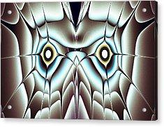 Day Owl Acrylic Print by Anastasiya Malakhova
