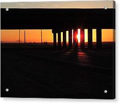 Daybreak Bridge Acrylic Print