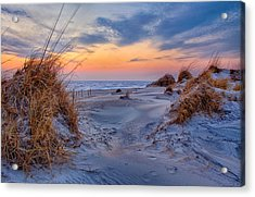 Daybreak On The Outer Banks 1 Acrylic Print by Dan Carmichael