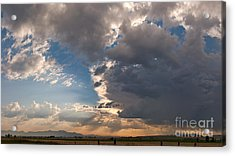Acrylic Print featuring the photograph Daybreak Panorama by Charles Kozierok