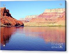 Daybreak - Vermillion Cliffs And Colorado River Acrylic Print by Douglas Taylor