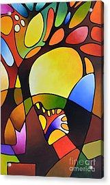 Daydream Canvas Three Acrylic Print