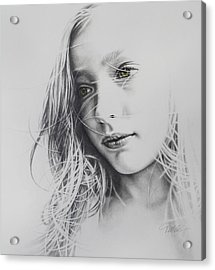 Daydreaming Acrylic Print by Tracy Male