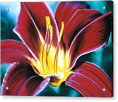 Daylilly Georgia Style Acrylic Print