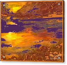 Days End Acrylic Print by Cindy McClung