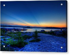 Acrylic Print featuring the photograph Days End by Dave Files