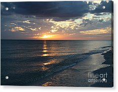 Days End Over Sanibel Island Acrylic Print