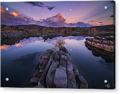 Days End Acrylic Print by Peter Coskun