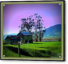 Acrylic Print featuring the photograph Days Gone By by Bobbee Rickard