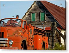 Days Gone By Acrylic Print