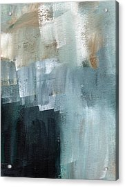 Days Like This - Abstract Painting Acrylic Print by Linda Woods