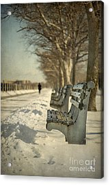Days Of Cold Chills Acrylic Print