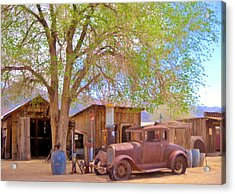 Acrylic Print featuring the photograph Days Past by Marilyn Diaz