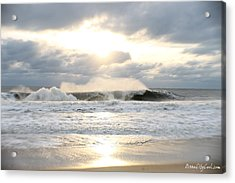 Day's Rolling Waves Acrylic Print