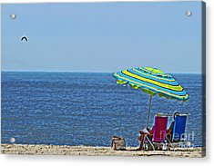 Daytime Relaxation Acrylic Print