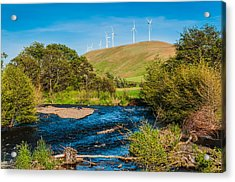 Acrylic Print featuring the photograph Dayton by Chris McKenna