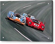 Daytona 1970 Acrylic Print