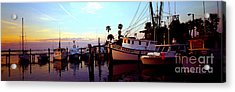 Acrylic Print featuring the photograph Daytona Beach Fl Last Chance Miss Hazel And Sonny Boy by Tom Jelen