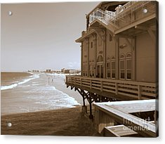 Acrylic Print featuring the photograph Daytona's Eat At Joe's by Jeanne Forsythe