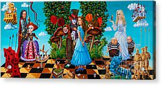 Daze Of Alice Acrylic Print