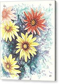 Dazzeled Acrylic Print by Brian Edward Harris