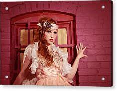 Dazzling Earth Angel  Acrylic Print by Kriss Russell