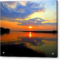 Dazzling End Of The Day Acrylic Print