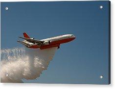 Dc 10 Air Tanker Acrylic Print