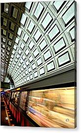D.c. Metro Acrylic Print by Ryan Johnson