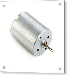 Dc Motor Acrylic Print by Science Photo Library