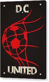 Dc United Goal Acrylic Print by Joe Hamilton