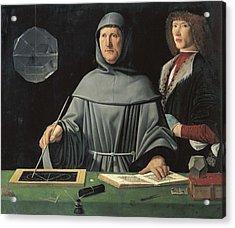 De Barbari, Jacopo Half 15th Acrylic Print by Everett