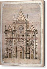 De Fabris Emilio, Dome, Draft Acrylic Print by Everett