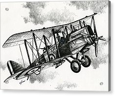 De Havilland Airco Dh.4 Acrylic Print by James Williamson