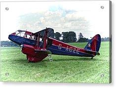 De Havilland Dragon Rapide Acrylic Print