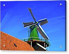 De Huisman Spice Mill Acrylic Print by Jonah  Anderson