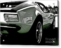 Acrylic Print featuring the photograph De Tomaso Pantera  1973 by Linda Bianic
