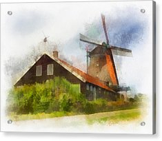 De Zoeker Acrylic Print by Rick Lloyd