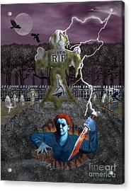 Dead Awakening Acrylic Print by Glenn Holbrook