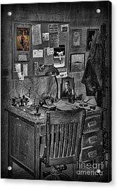 Dead-end Job Acrylic Print by Lee Dos Santos