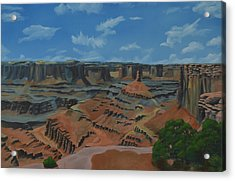 Dead Horse Point Acrylic Print by Nick Froyd