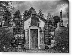 Dead Man's Castle Acrylic Print by Brett Engle