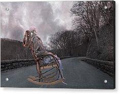 Dead Man's Curve Acrylic Print by Betsy Knapp