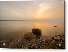 Dead Sea Sunrise Acrylic Print