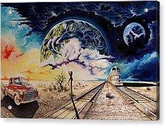 Dead Tree Junction Acrylic Print