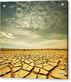 Dead Valley Acrylic Print by Boon Mee