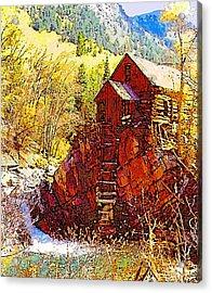 Deadhorse Mill Acrylic Print