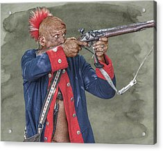 Deadly Accurate  Acrylic Print by Randy Steele