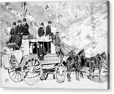 Deadwood Stagecoach, 1889 Acrylic Print